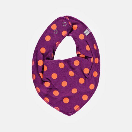 Pippi bib sjaal paars