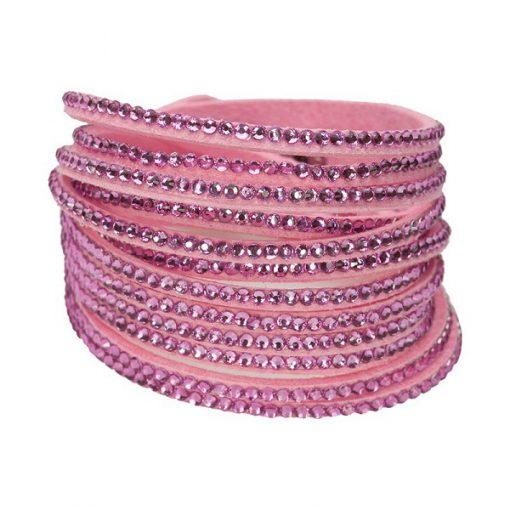 Creamie Gitte armband roze