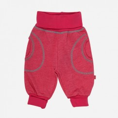 Minymo Angel newborn baby roze sweatbroek