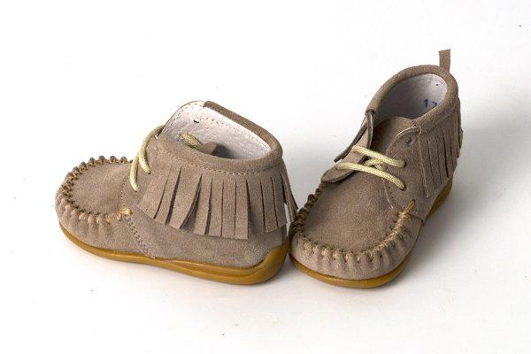 Kinderschoenen Maat 18.Bardossa Kinderschoen Kimba Serraje Taupe Cuerda