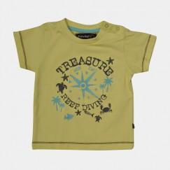 Minymo Aske shirt licht geel