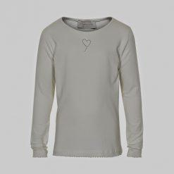 Creamie Crissy LS basic Shirt off white