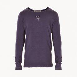 Creamie Crissy LS basic Shirt blauw