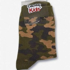 Country Kids camouflage sokken