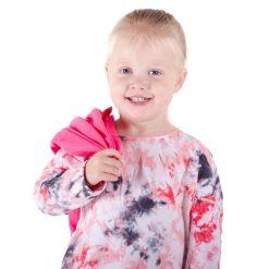 Minymo – meisjes shirt – tie dye – roze
