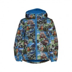 Minymo ECHO Softshell jacket BLUE