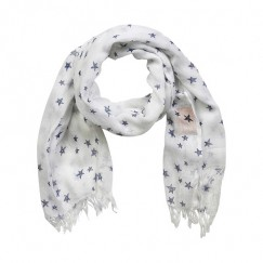Creamie Small Star Scarf