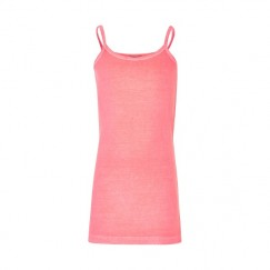Creamie Crissy pink coral Strap Top