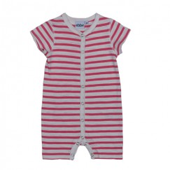 Ebbe Bird roze playsuit