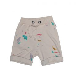 Ingo sweat short Watercolour print
