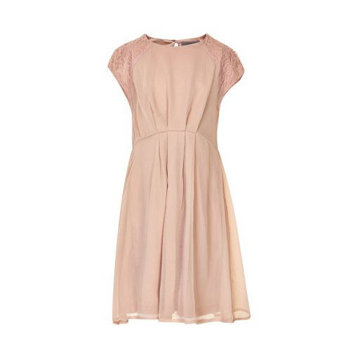Creamie shadow rose Elea dress