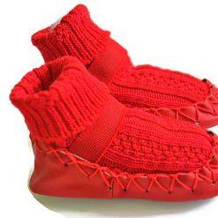 Bardossa - Nowali - Sokpantoffel - rood