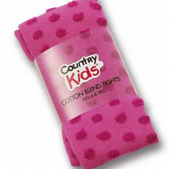 Country Kids funky maillot roze met rode stip
