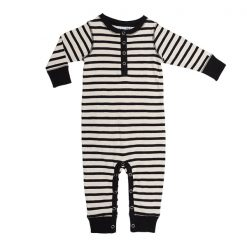 Ebbe Amore bodysuit offwhite black stripe