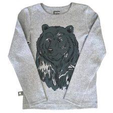 Hebe sweater grijs met beer