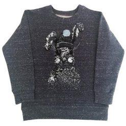 Hebe sweater donker blauw met konijn