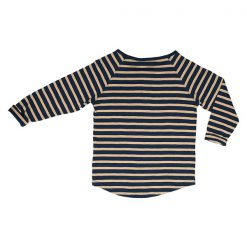 Ebbe Alex shirt winter navy sand stripe