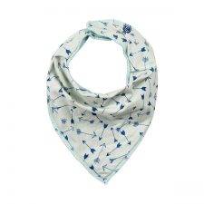 Minymo Joo 52 scarf bib blauw