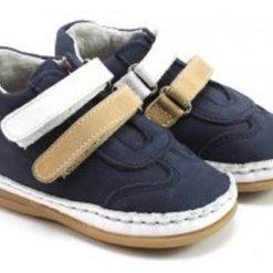 Bardossa - kinderschoen - Hugo Box blanco marino - blauw