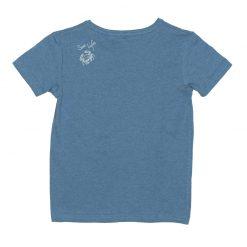Ebbe Barnie shirt blue denim melange