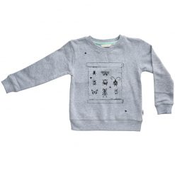 Ebbe Sacke college sweater