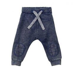 Minymo - jongens broek - denim look - blauw