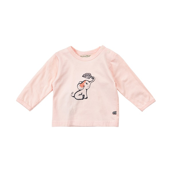 Babykleding Print.Minymo Joo 32 Shirt Met Print Roze Babykleding Newborn Eileen4kids