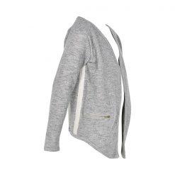 Creamie Heba sweat cardigan light grey melange