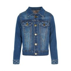 Creamie Herle Jacket blue denim