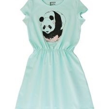 Hebe jurk mint met panda