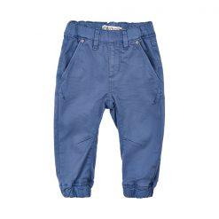 Minymo - jongens broek - model kato twill loose - blauw
