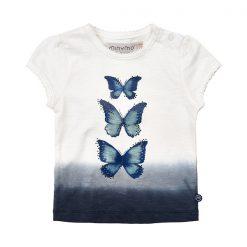 Minymo Kylie meisjes shirt met vlinder