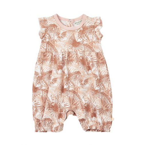 Minymo Kim playsuit cameo rose