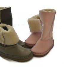 Bardossa Alto Nubuck grijze schoen met bont