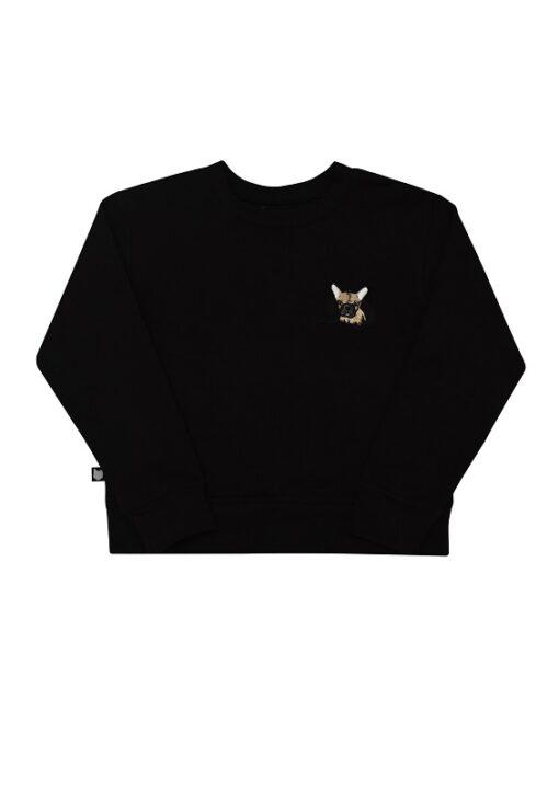 Hebe - sweater - zwart - Eileen4Kids
