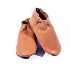 Baby Dutch - babyslofjes - cognac - Eileen4Kids