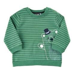 Me Too shirt gestreept groen - Eileen4Kids